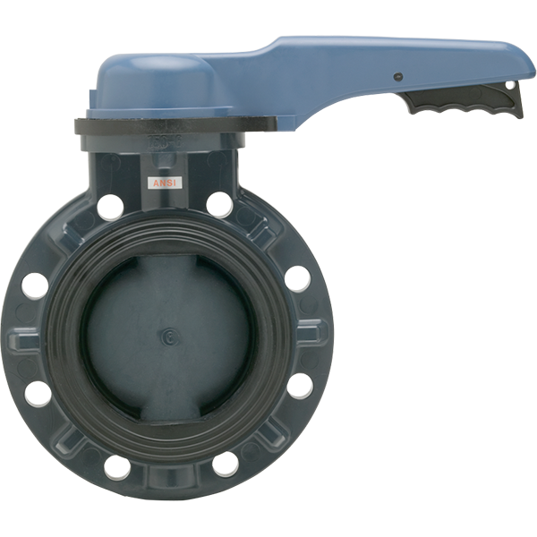 8 inch Asahi Pool Pro Butterfly Valve - lever