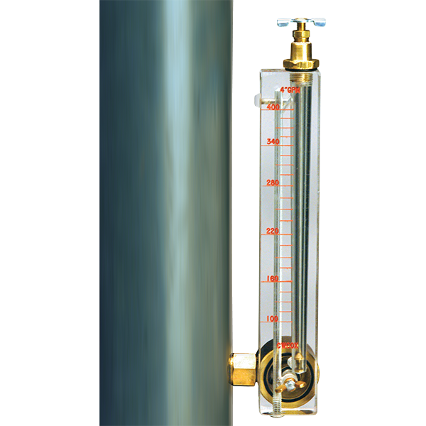 Piro vertical mount flowmeters are precision instruments with a 2% accuracy.