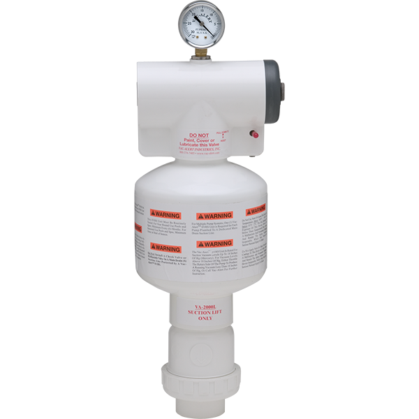 Vac Alert Pool Safety Vacuum Release System Submersed Suction