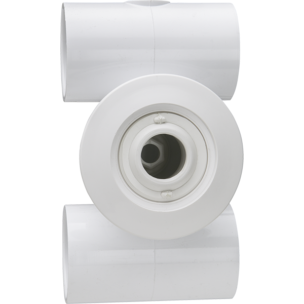 Commercial spa complete hydro jet assembly 1.5 inch socket.