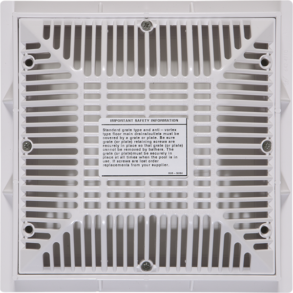 Waterway 9 inch x 9 inch Swimming Pool Frame and Grate