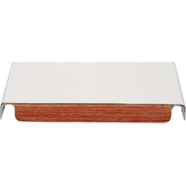 Frontier III acrylic-wood core commercial swimming pool diving board.