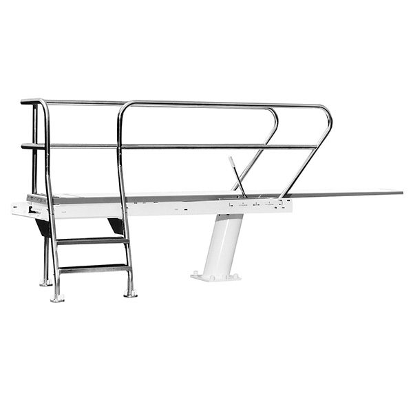 1 Meter Right Mount S R Smith Commercial Swimming Pool Dive Tower