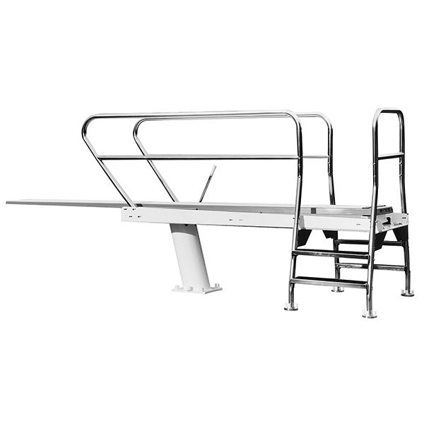 1 Meter Dual Mount S R Smith Commercial Swimming Pool Dive Tower
