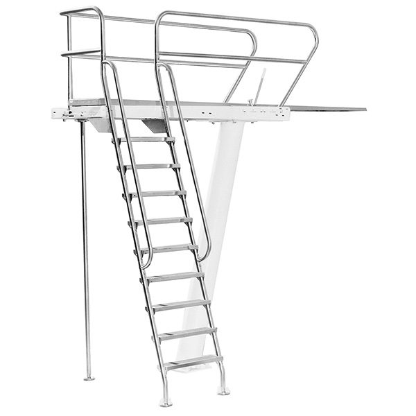3 Meter Right Mount S R Smith Commercial Swimming Pool Dive Tower