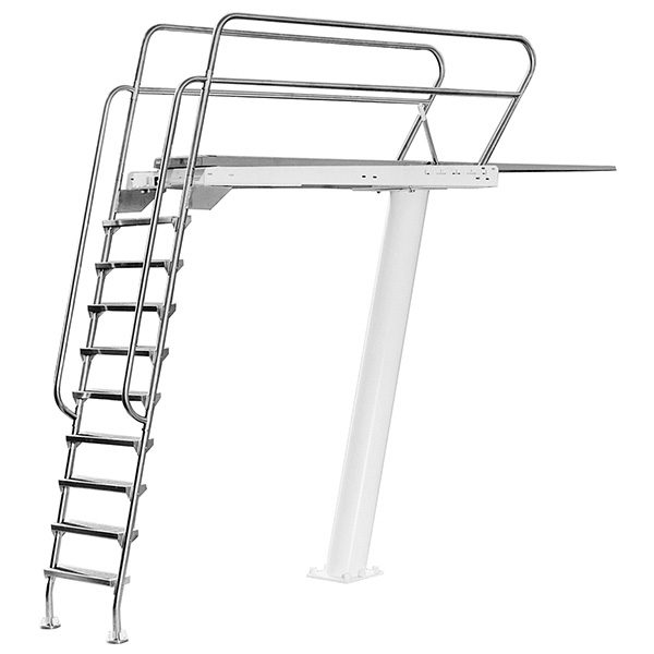 3 Meter Heel Mount S R Smith Commercial Swimming Pool Dive Tower