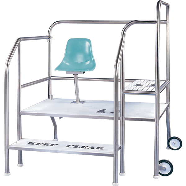 Griffs Elevated Step Guard Station Lifeguard Chair