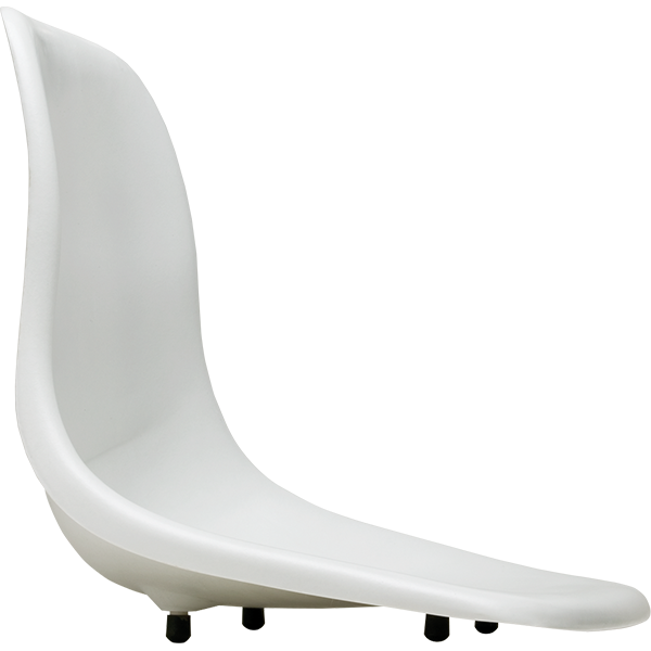 Replacement Fiberglass Seat with Swivel for S.R. Smith Lifeguard Chairs