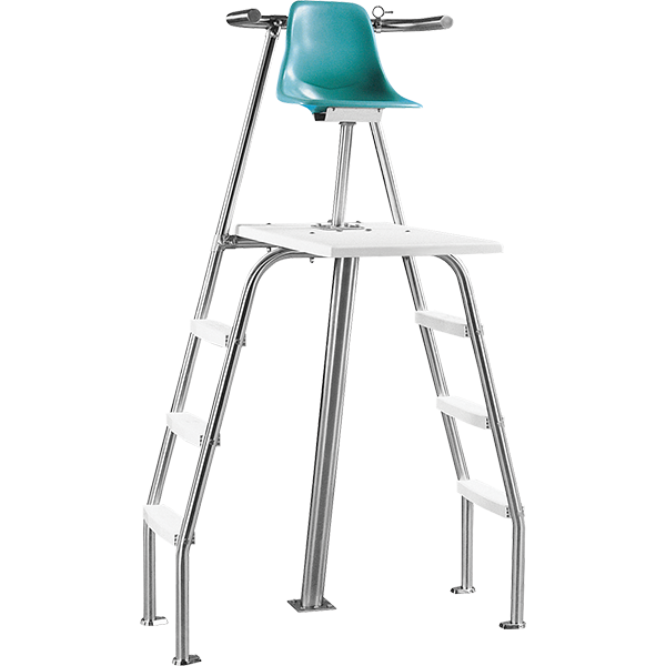 Paragon Paraflyte Permanent Lifeguard Chair with Side Ladders