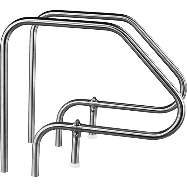 T-304 Stainless Steel Adjustable Long Reach Swimming Pool Grab Rails