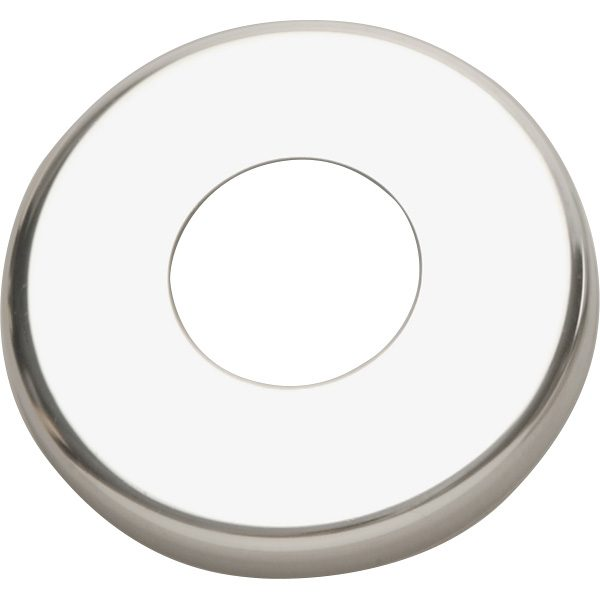 1.90 inch Round Stamped Stainless Steel Pool Deck Escutcheon Plate