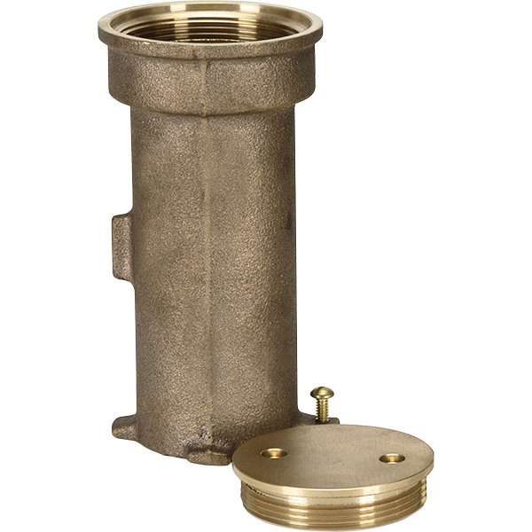 Paragon Bronze Stanchion Anchor Socket and Threaded Cap