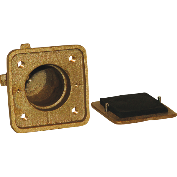 Bolt-Down Anchor Set and Cover Plate for Bolt-Down Paragon Starting Platforms