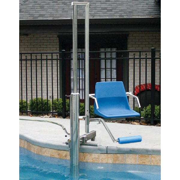 aquatic access ada compliant swimming pool lift igat 180 complete