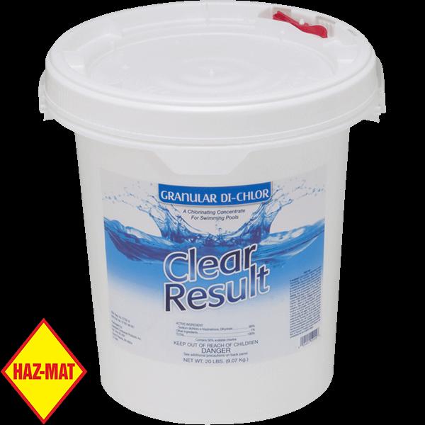 25 pound pail Quick Dissolving Granular Stabilized Chlorine