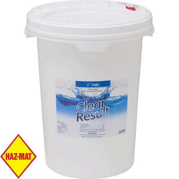 Clear Results Swimming Pool Giant Stabilized Chlorine Tablets