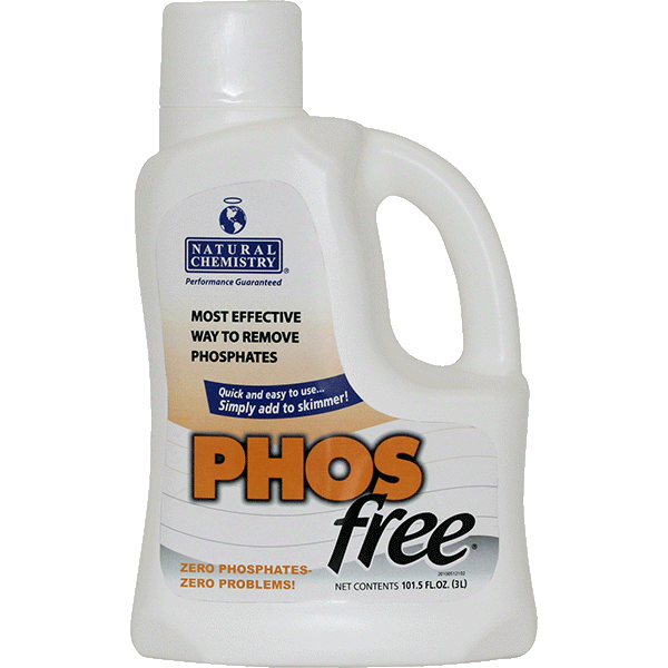 Natural Chemistry's PHOSfree Swimming Pool Water Phosphate Remover