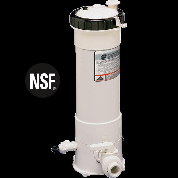 High Capacity Chlorine-Bromine Erosion Feeder - 15 lbs. capacity