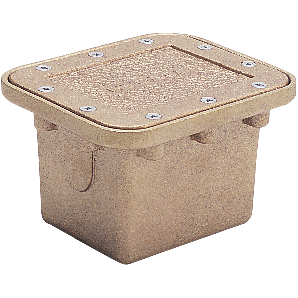 Jb 1719 hydrel above deck wall mounted bronze junction box - Swimming pool electrical deck box ...
