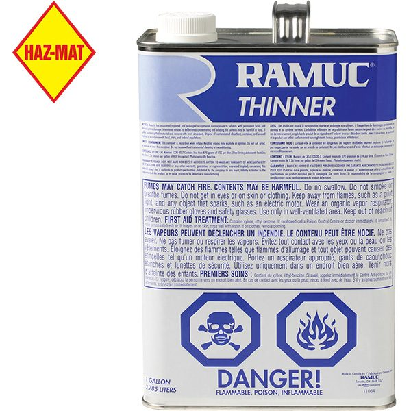 Ramuc Thinner for Solvent Based Swimming Pool Paints