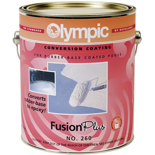 Fusion Plus Rubber Based Swimming Pool Paint Converter