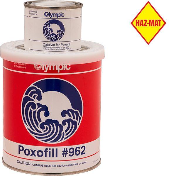 Poxofill Permanent Concrete Patching - quart
