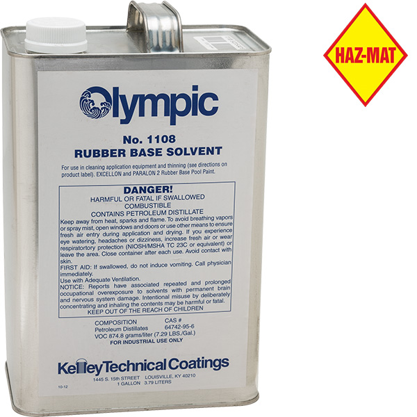 Olympic Rubber Base Swimming Pool Paint Solvent
