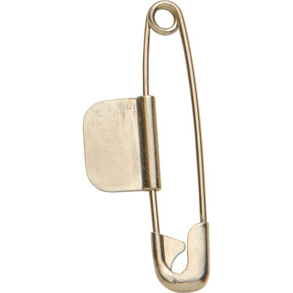 2 inch Style E Numbered and Plain Heavy-Duty Stainless Steel and Nickel-Plated Brass Check Pins