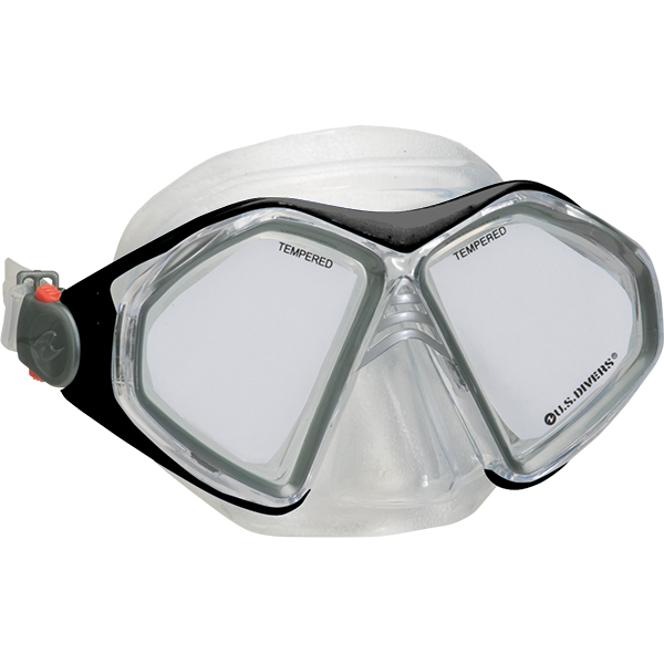 Admiral LX Two Window Dive Mask Hypoallergenic Silicon Face Skirt
