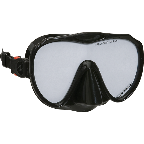 One-Window Malibu LX Dive Mask Hypoallergenic Silicon Face Skirt
