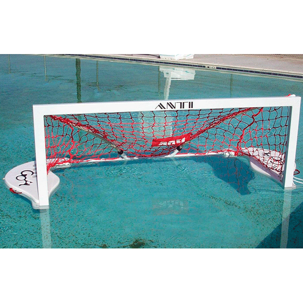 Anti-Wave's Splashball junior floating and folding water polo goal.