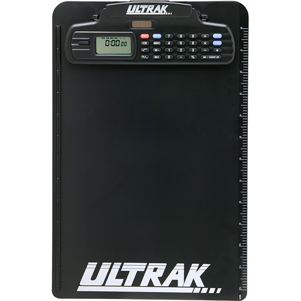 Ultrak 700 Clipboard With Built In Stopwatch And Calculator