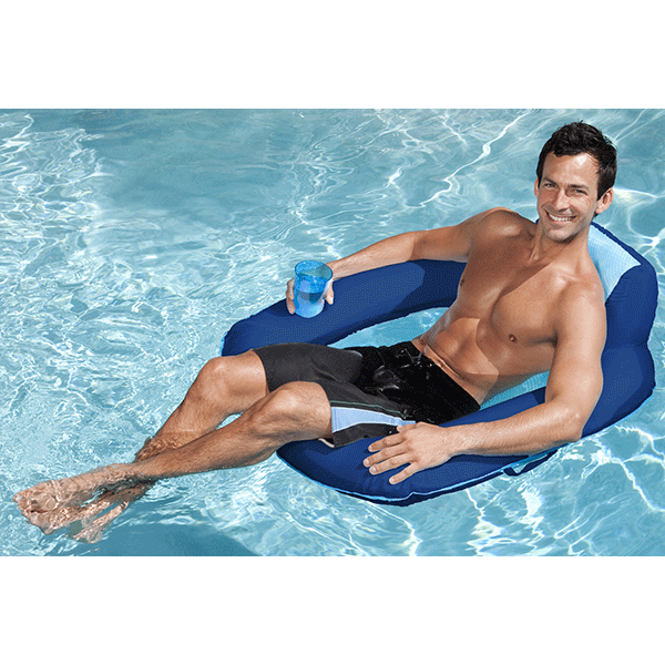 Spring Float Pool SunSeat Floating Swimming Pool Reclining Chair
