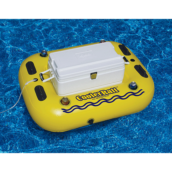 RiverRough CoolerRaft Swimming Pool Vinyl Cooler Float