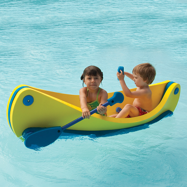 The Canoe - EVA Foam Children's Swimming Pool Canoe