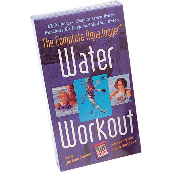Aquajogger Water Workout Aquatic Exercise Instruction Video