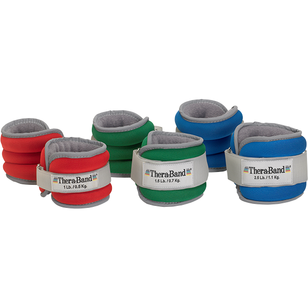Thera-Band Comfort Fit Ankle-Wrist Weights