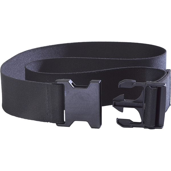 AquaJogger Swim Belt Replacement Black Belt with Quick-Release Buckle