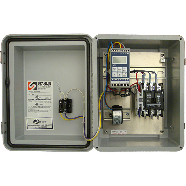 PSP20 Automatic Pump Shut-Off System is a fully assembled control panel.