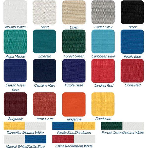 Funbrella Classic Umbrella Style Shade Structure Color Options