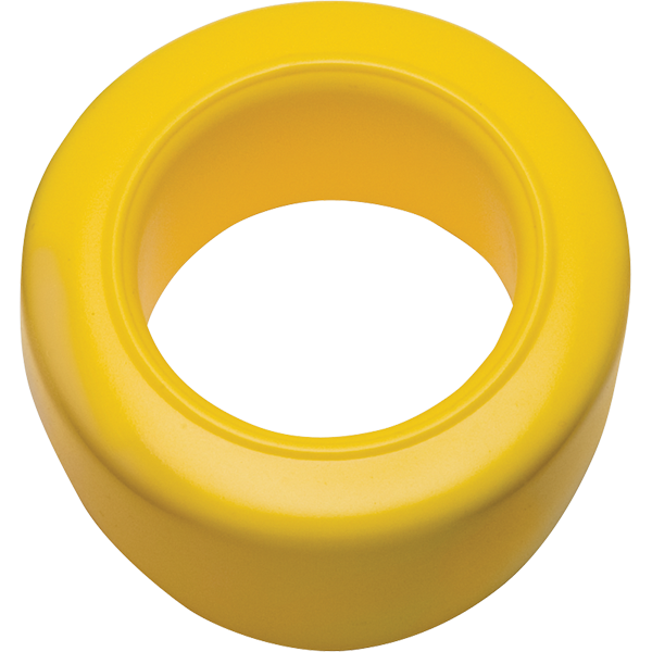 Personal Mouthpiece for Plastic Megaphones - yellow