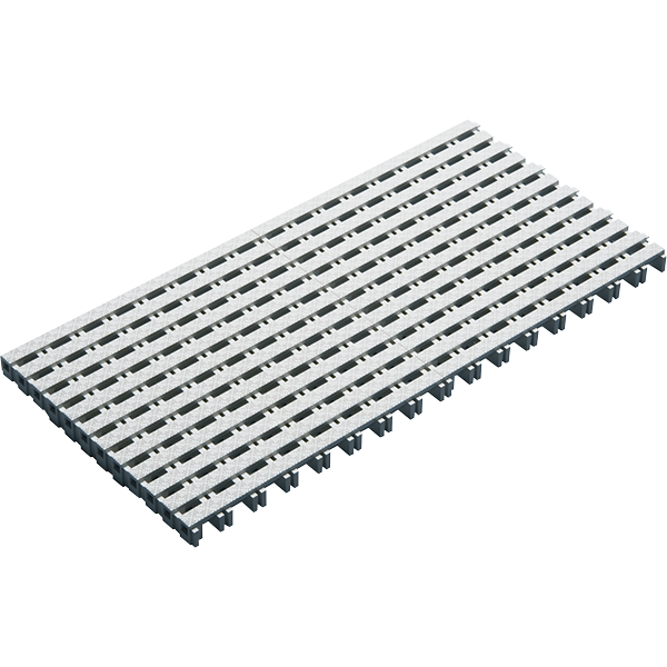 Quiet-Flow Straight Parallel Swimming Pool Grate