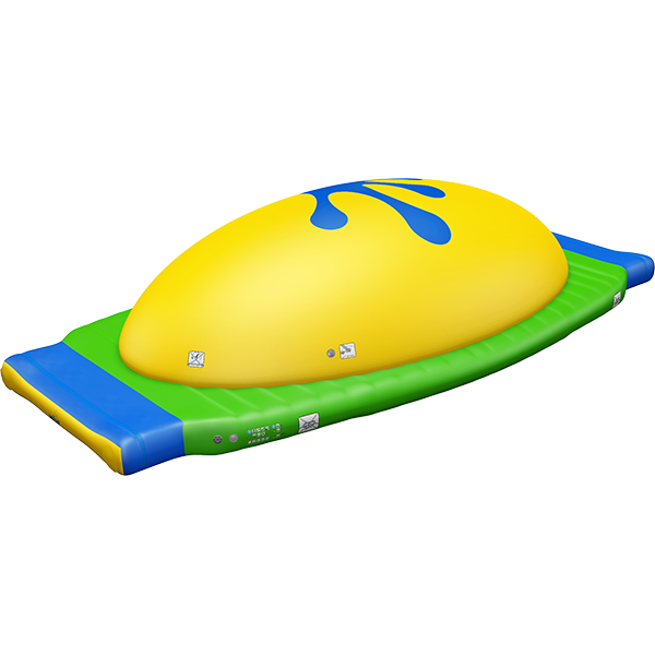 3-D rendering of Wibit Dome modular inflatable play product.