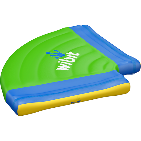 3-D rendering of Wibit Side Kick modular inflatable play product.