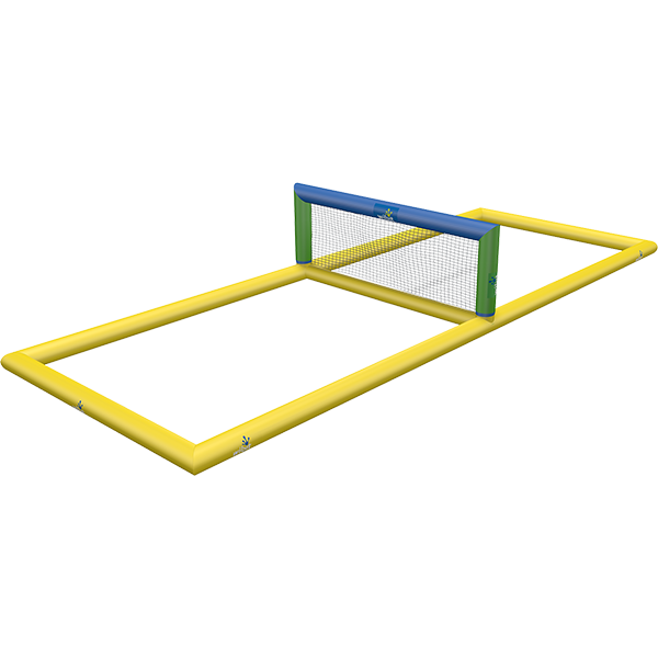 3-D rendering of Wibit Volley stand alone inflatable play product.