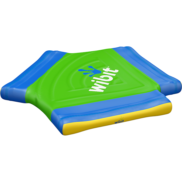 3-D rendering of Wibit Y-Connect modular inflatable play product.