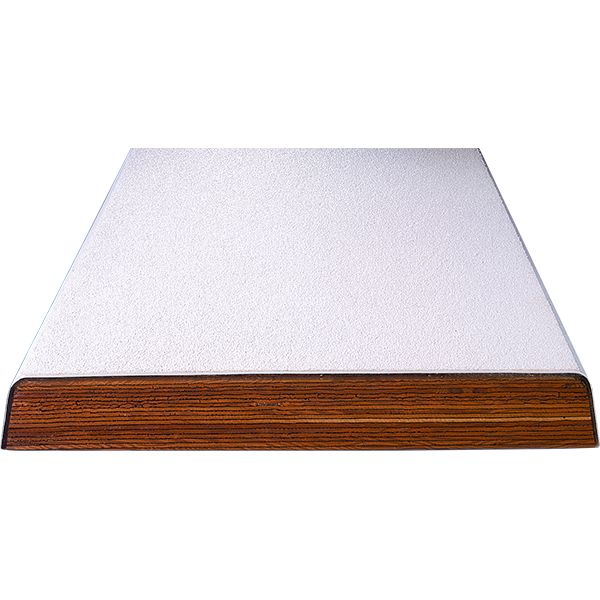 Recreational acrylic coated-wood core diving board for commercial swimming pools.