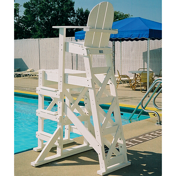 Tailwind TLG530 HDPE Recycled Plastic Lifeguard Chair