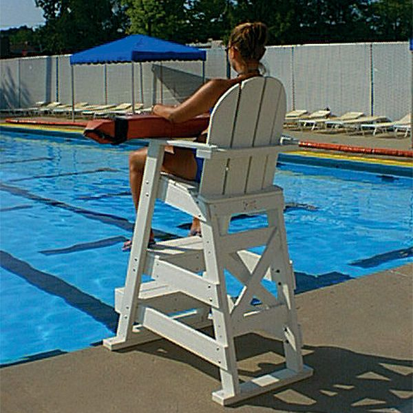 Tailwind LG-510 HDPE Recycled Plastic Lifeguard Chair