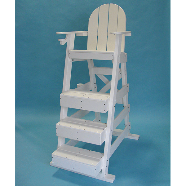 Tailwind LG515 HDPE Recycled Plastic Lifeguard Chair